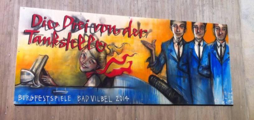 Plakat Burgfestspiele Bad Vilbel