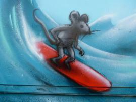 Surfmaus am Wasserkasten, Bad Vilbel