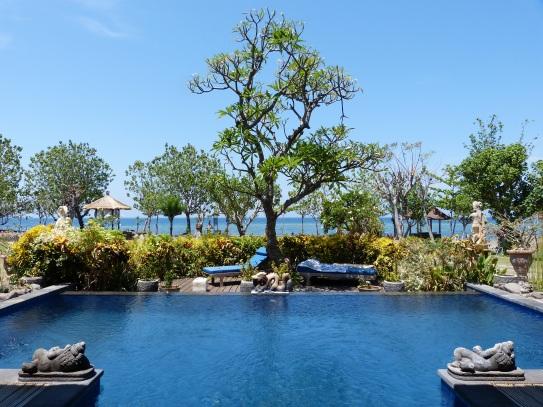 Privater Plunge Pool auf Bali