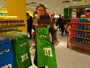 M&M Store auf der Nánjīng Lù - 南京路