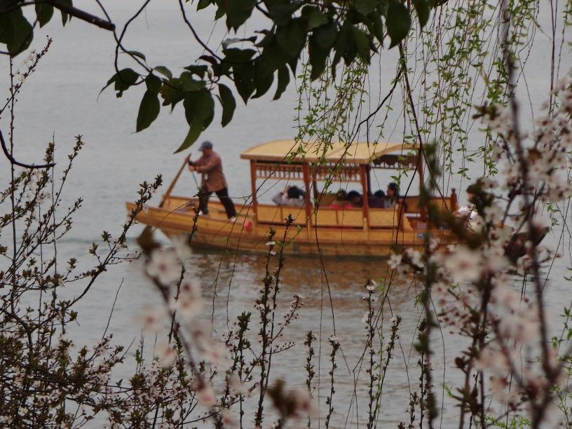 Fischer im Westsee (Xī Hú - 西湖)