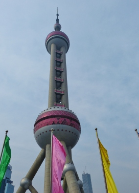 Oriental Pearl Tower in voller Größe