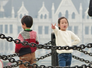 Gong Fu am Bund