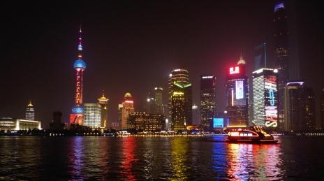 Blick vom Bund nach Pudong