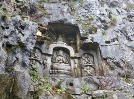 Skulpturen im Lingyin Park