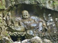Wahrzeichen im Lingyin Park