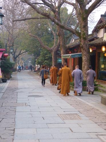 Tiānzhú lù (天竺路), hier liegt das B&B