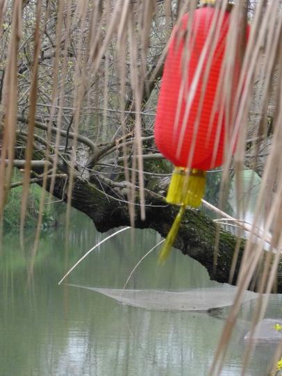 Fischernetz & Lampion