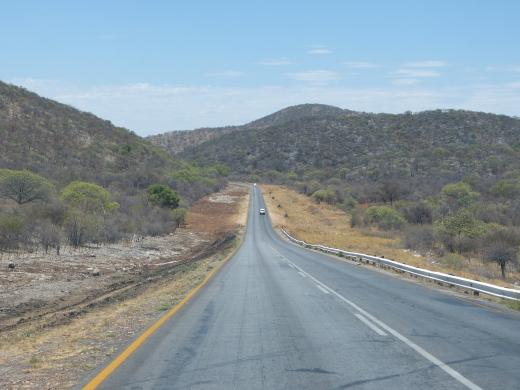 Fahrt nach Okonjima