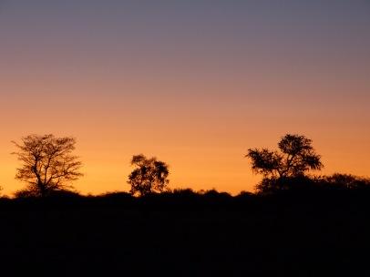 Traumhafter Sonnenuntergan