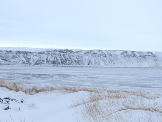 Zugefrorener See