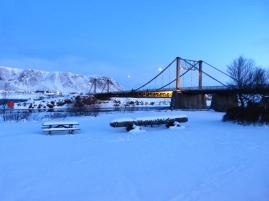 Früh morgens in Selfoss