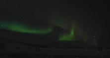 Nordlicht in Þingvellir