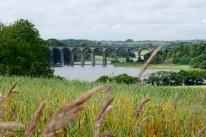 Bridge over very untroubled water
