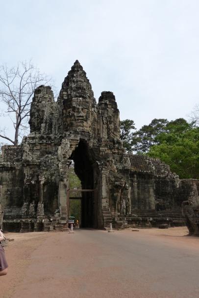 Eingang zum Tempelkomplex Bayon