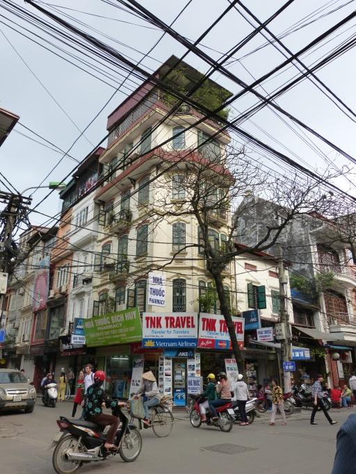 Kabelsalat in Hanoi