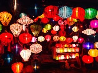 Lampiongeschäft in Hoi An