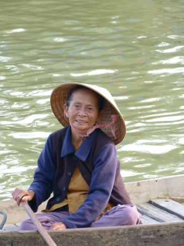Fischerin in Hoi An