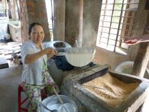 Bäckerin bei Danang