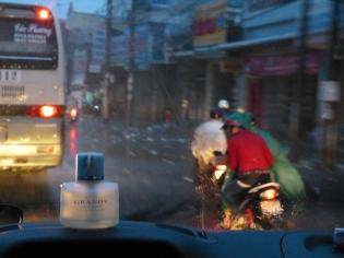 Rückfahrt durch Saigon