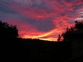 Unser Sonnenuntergang