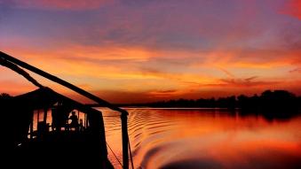 Auf dem Gambia River