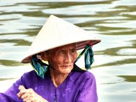 Bootsfrau in Hoi An