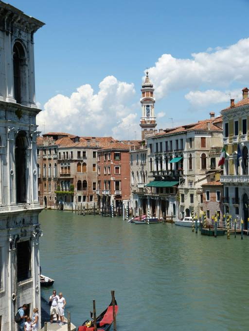 Die Wasserstraßen von Venedig