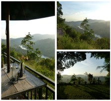 Blick von der Villa Rosa