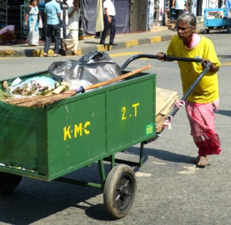 Gewusel in Kandy