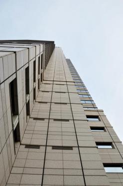 Hotel von unten