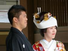 Hochzeit am Tempel