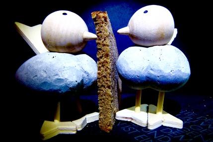 Brot für die Vögel