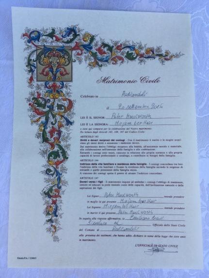 Die Urkunde