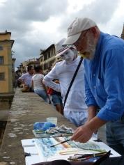 Künstler in Florenz