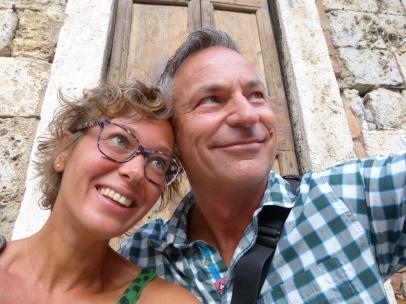In San Gimignano
