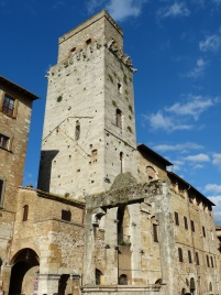 Gassen von San Gimignano