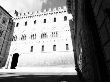 In den Gassen von Siena