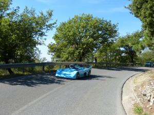 Autorennen in der Toskana