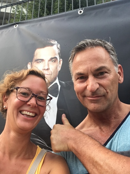 ... Selfie mit Robbie