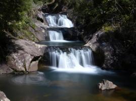 Wasserfall im Rapauna Watergarden