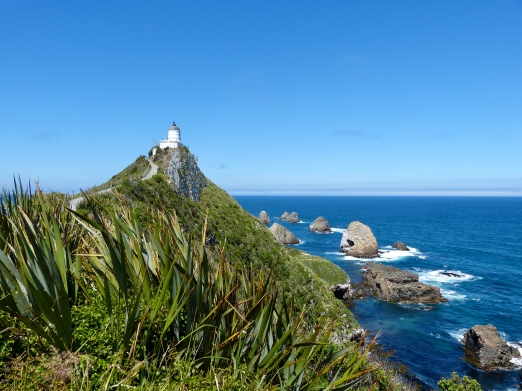 Leuchtturm am Nugget Point