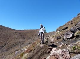Abstieg vom Mount Doom
