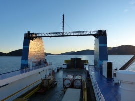 Die Interislander Fähre von Wellington nach Picton