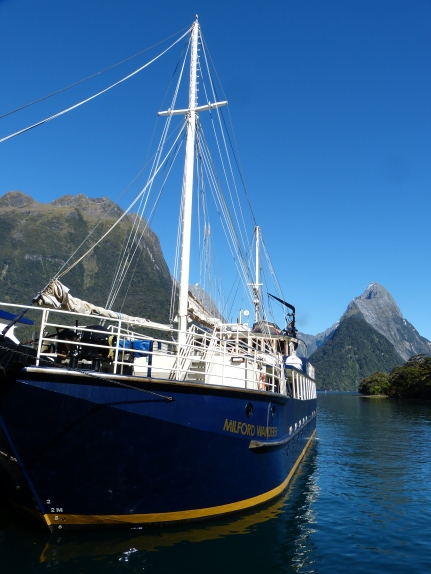 Unser Schiff, die Milford Wanderer