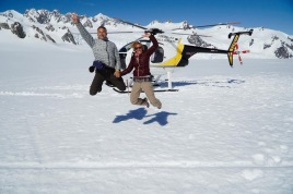 Auf dem Franz-Josef Gletscher