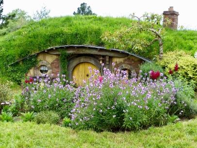 Blumenpracht bei den Hobbits