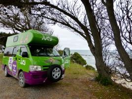 Stellplatz am Meer - kurz von Dunedin