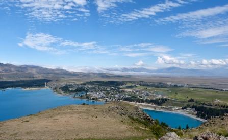 Blick auf Tekapo City