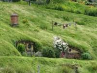 Die Hügellandschaft im Auenland